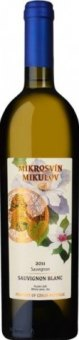 Víno Sauvignon Mikrosvín Mikulov - pozdní sběr