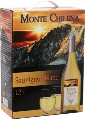 Víno Sauvignon Blanc Monte Chilena - bag in box