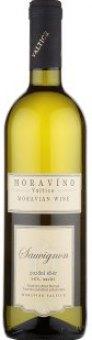 Víno Sauvignon Moravíno Valtice - pozdní sběr