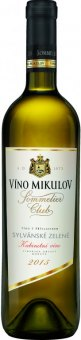 Víno Sauvignon Sommelier Club Víno Mikulov - kabinetní