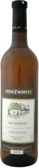 Víno Sauvignon Víno z Kobylí - pozdní sběr