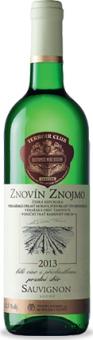 Víno Sauvignon Znovín Znojmo - pozdní sběr