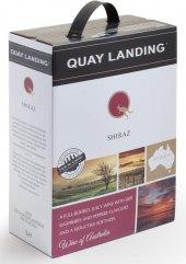 Víno Shiraz Quay Landing - bag in box