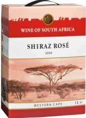 Víno Shiraz Rosé South Africa - bag in box