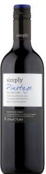 Víno Simply Pinotage Tesco
