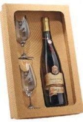 Vína Vinný sklep Sovín - pozdní sběr - dárkové balení