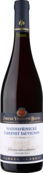 Víno Svatovavřinecké a Cabernet Sauvignon Cuvée Morava Zámecké vinařství Bzenec