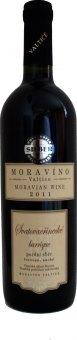 Víno Svatovavřinecké Barrique Moravíno Valtice - pozdní sběr