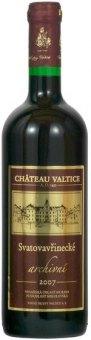 Víno Svatovavřinecké Chateau Valtice - archivní