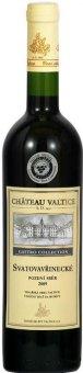 Víno Svatovavřinecké Gastro Collection Chateau Valtice - pozdní sběr