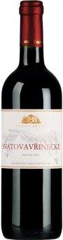 Víno Svatovavřinecké Modrý sklep Šaldorf