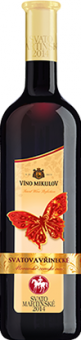 Víno Svatovavřinecké Motýl Víno Mikulov - svatomartinské