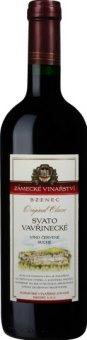 Víno Svatovavřinecké Original Classic Zámecké vinařství Bzenec