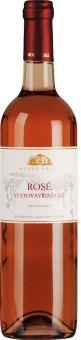 Víno Svatovavřinecké Rosé Modrý sklep Šaldorf