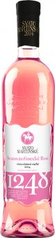 Víno Svatovavřinecké Rosé Templářské sklepy Čejkovice - svatomartinské