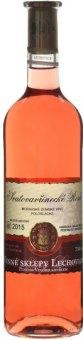 Víno Svatovavřinecké Rosé Vinné sklepy Lechovice - zemské