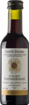 Víno Svatovavřinecké St. Laurent Znovín Znojmo