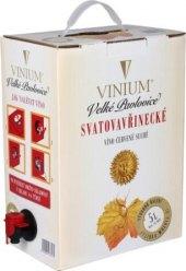 Víno Svatovavřinecké Vinium Velké Pavlovice - bag in box