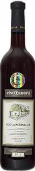 Víno Svatovavřinecké Víno z Kobylí - pozdní sběr