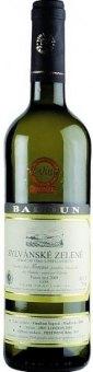 Víno Sylvánské Vinařství Baloun - pozdní sběr