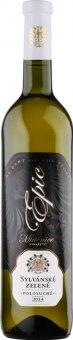 Víno Sylvánské zelené Epic Collection Zámecké Vinařství Mutěnice
