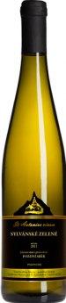 Víno Sylvánské zelené St.Antonius Vinařství Blatel - pozdní sběr