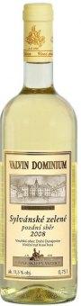 Víno Sylvánské zelené Valvin Dominium Collection Chateau Valtice - pozdní sběr