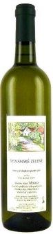 Víno Sylvánské zelené Vinařství František Mádl - pozdní sběr