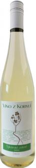 Víno Sylvánské zelené Víno z Kobylí - kabinetní