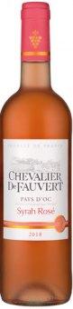 Víno Syrah rosé Pays d'Oc Chevalier de Fauvert