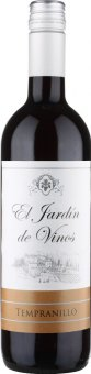 Víno Tempranillo El Jardín de Vinos  Vinařství Mutěnice