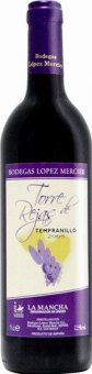 Víno Tempranillo Torre de Rejas La Mancha