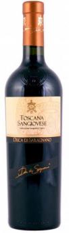 Víno Toscana Sangiovese Duca di Saragnano