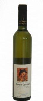 Víno Tramín červený Adámkovo vinařství - výběr z bobulí