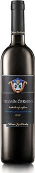 Víno Tramín červený Chateau Topolčianky - výběr z hroznů