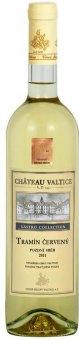 Víno Tramín červený Gastro Collection Chateau Valtice - pozdní sběr