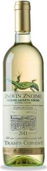 Víno Tramín červený Lacerta Viridis Znovín Znojmo - pozdní sběr
