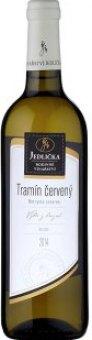 Víno Tramín červený Vinařství Jedlička - výběr z hroznů