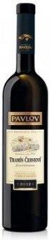 Víno Tramín červený Vinařství Pavlov - výběr z hroznů