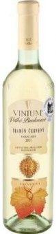 Víno Tramín červený Vinium Exclusive Velké Pavlovice - pozdní sběr