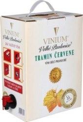 Víno Tramín červený Vinium Velké Pavlovice - bag in box