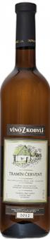 Víno Tramín červený Víno z Kobylí  - pozdní sběr