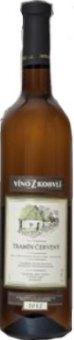 Víno Tramín červený Víno z Kobylí - výběr z hroznů