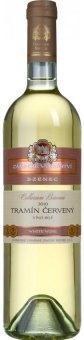 Víno Tramín červený Zámecké vinařství Bzenec