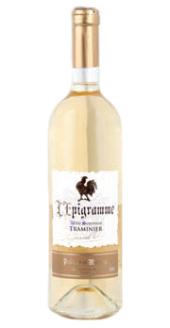 Víno Traminer L'Epigramme