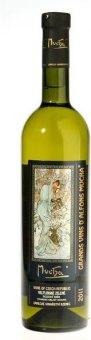 Víno Veltlínské zelené Alfons Mucha Zámecké vinařství Bzenec - pozdní sběr