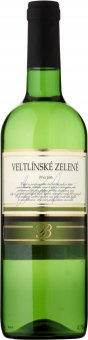 """Víno Veltlínské zelené ,,B"""" Budamont"""