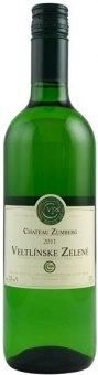 Víno Veltlínské zelené Château Zumberg Vinařství Pavelka a syn