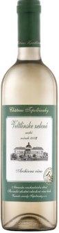 Víno Veltlínské zelené Chateau Topolčianky - archivní