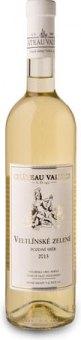 Víno Veltlínské zelené Chateau Valtice - pozdní sběr